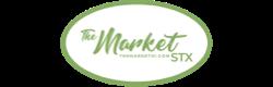 A theme logo of The Market St. Croix